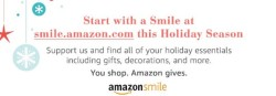 #StartWithaSmile at smile.amazon.com/ch/35-1801648 for your holiday gifts and Amazon donates to Hendricks Civic Theatre Inc.